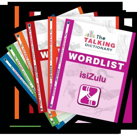 Talking Disctionary Language Wordlists