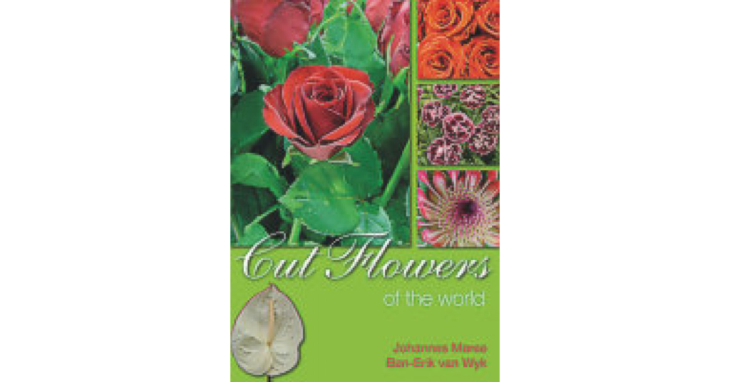 Cut Flowers of the World Book Cover Briza Publications