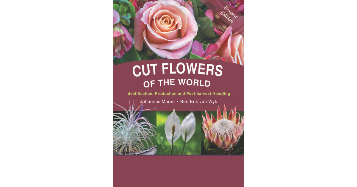 Cut Flowers of the World cover by Briza Publications